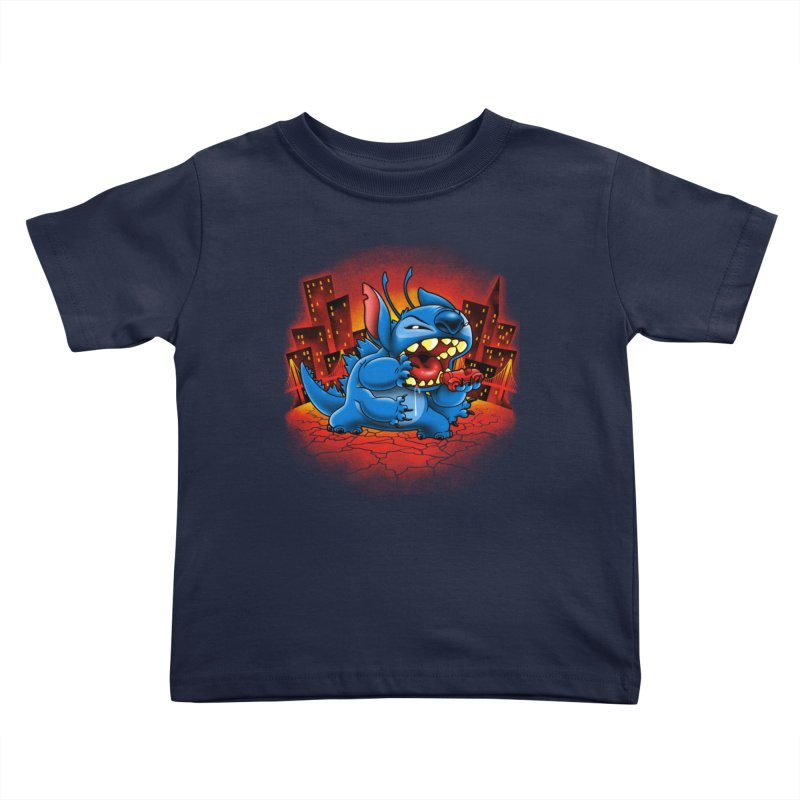 Stitchzilla Kids Toddler T-Shirt by harebrained's Artist Shop