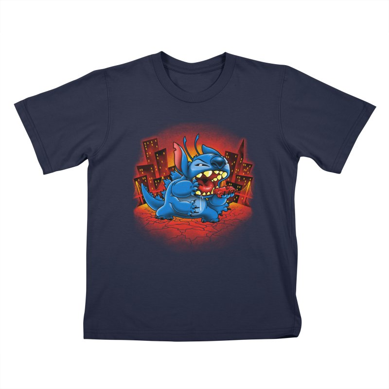 Stitchzilla Kids T-shirt by harebrained's Artist Shop