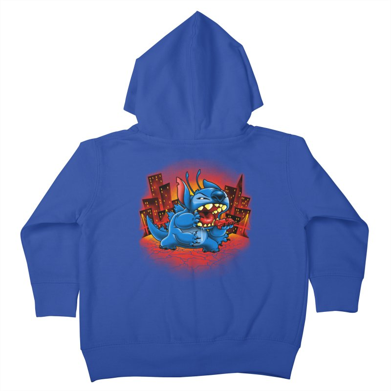 Stitchzilla Kids Toddler Zip-Up Hoody by harebrained's Artist Shop