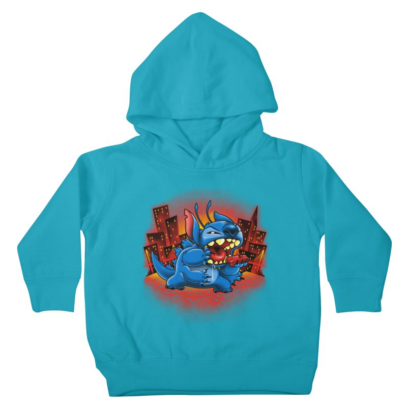 Stitchzilla Kids Toddler Pullover Hoody by harebrained's Artist Shop