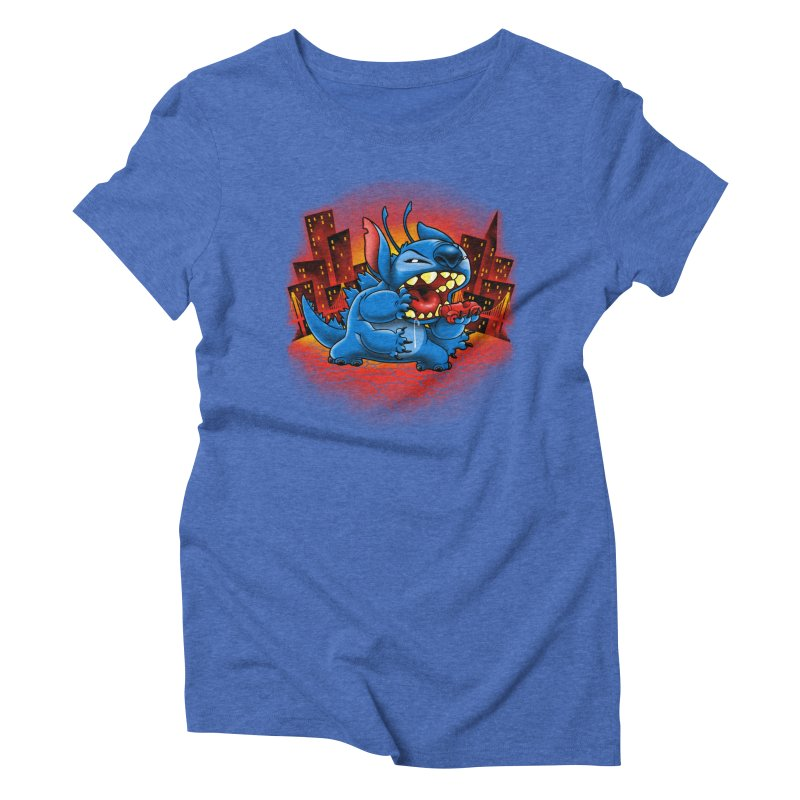 Stitchzilla Women's Triblend T-Shirt by harebrained's Artist Shop