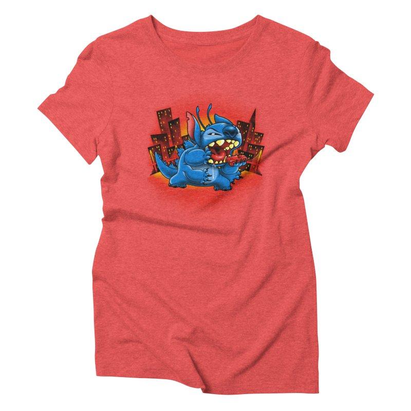 Stitchzilla Women's Triblend T-shirt by harebrained's Artist Shop