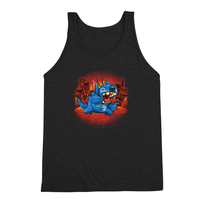 Stitchzilla Men's Triblend Tank by harebrained's Artist Shop