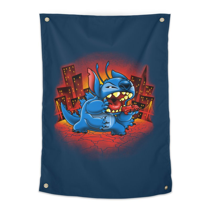 Stitchzilla Home Tapestry by harebrained's Artist Shop