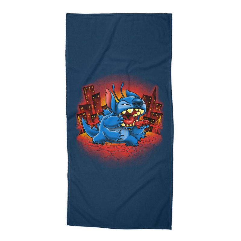Stitchzilla Accessories Beach Towel by harebrained's Artist Shop