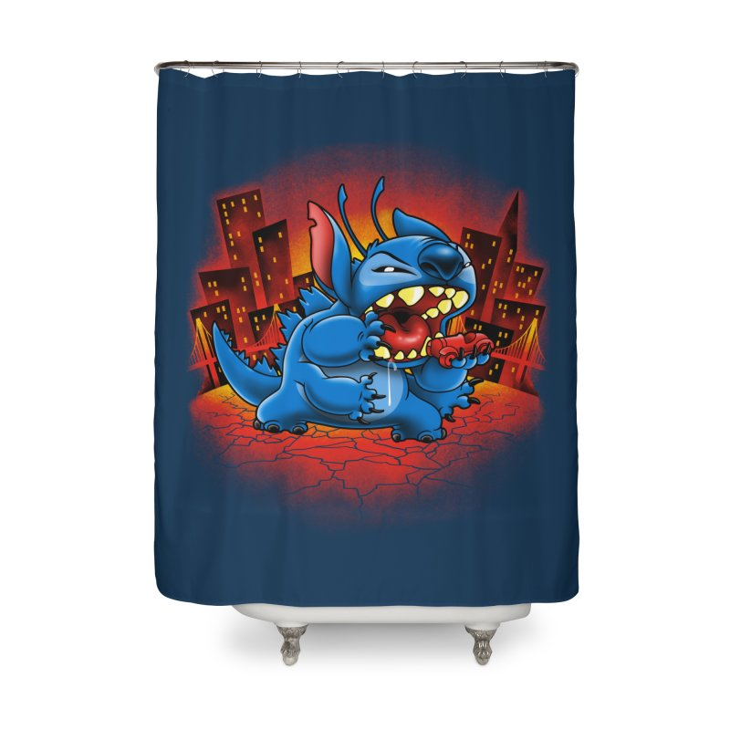 Stitchzilla Home Shower Curtain by harebrained's Artist Shop