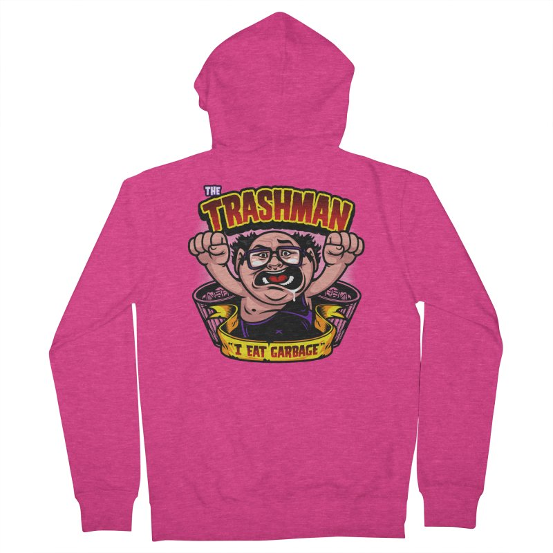 The Trashman Women's Zip-Up Hoody by harebrained's Artist Shop