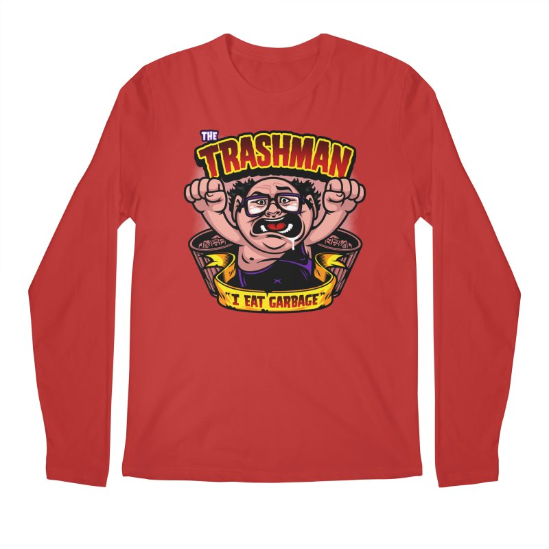 The Trashman Men's Longsleeve T-Shirt by harebrained's Artist Shop