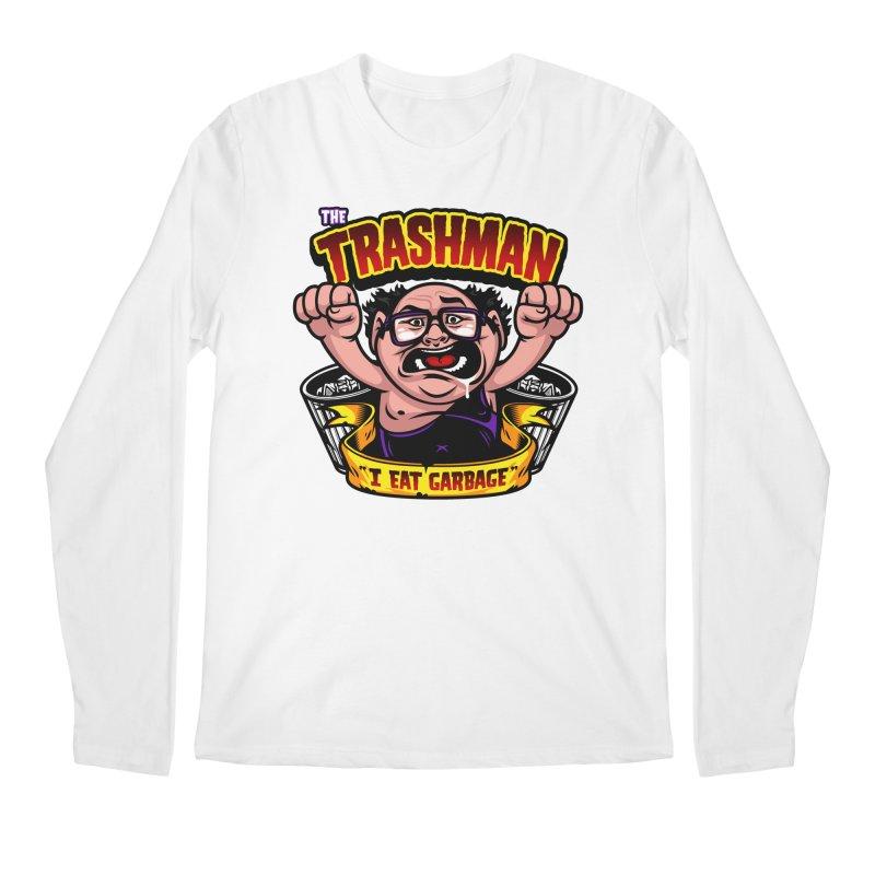 The Trashman Men's Regular Longsleeve T-Shirt by harebrained's Artist Shop