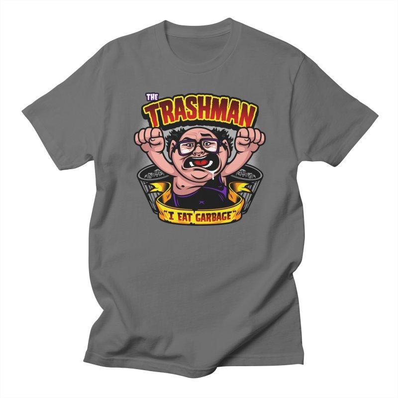 The Trashman Men's T-Shirt by harebrained's Artist Shop
