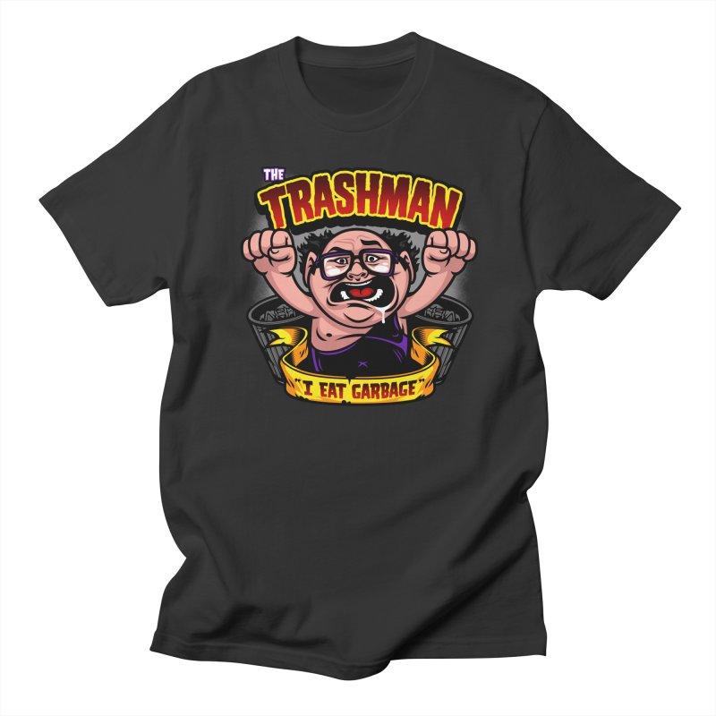 The Trashman Women's Unisex T-Shirt by harebrained's Artist Shop