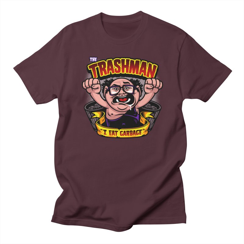 The Trashman Men's T-shirt by harebrained's Artist Shop