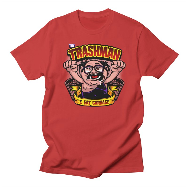 The Trashman Women's Unisex T-Shirt by harebrained's Artist Shop