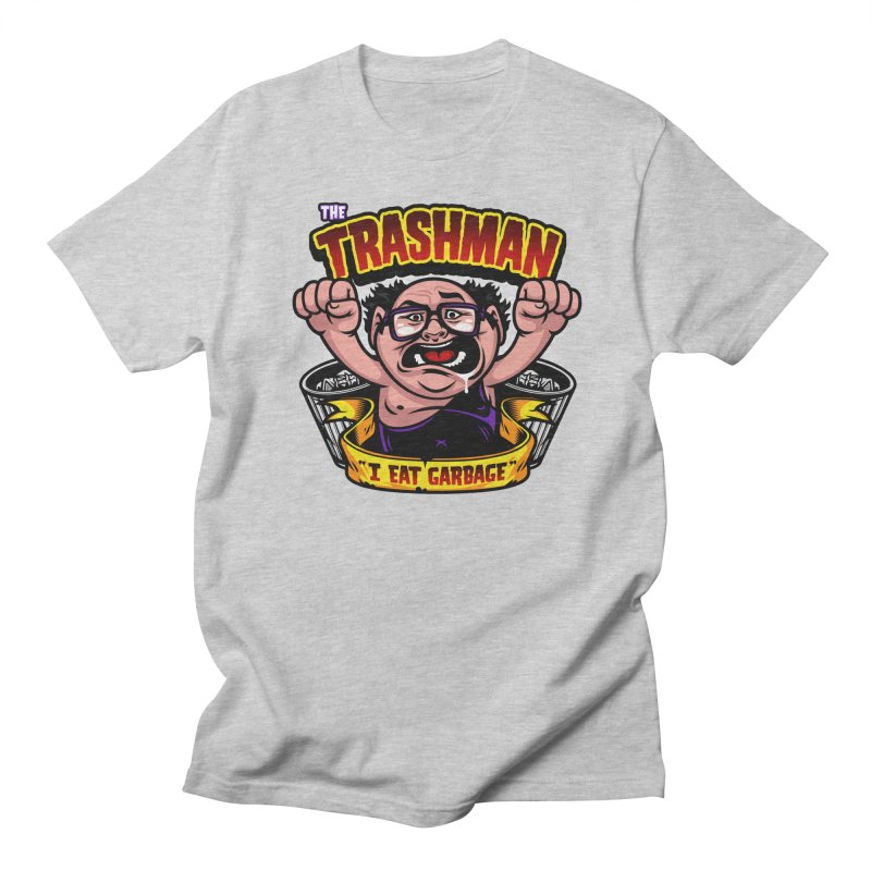 The Trashman Women's Regular Unisex T-Shirt by harebrained's Artist Shop