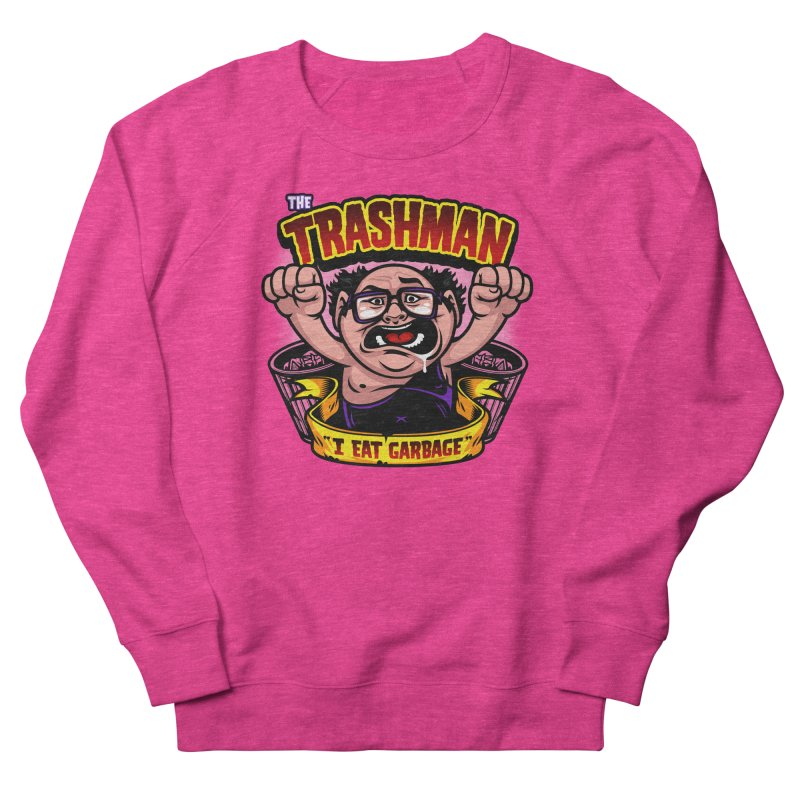 The Trashman Men's Sweatshirt by harebrained's Artist Shop