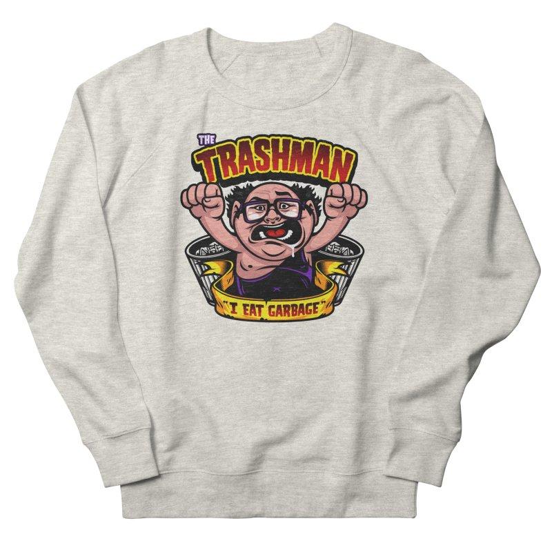 The Trashman Men's Sweatshirt by harebrained's Artist Shop