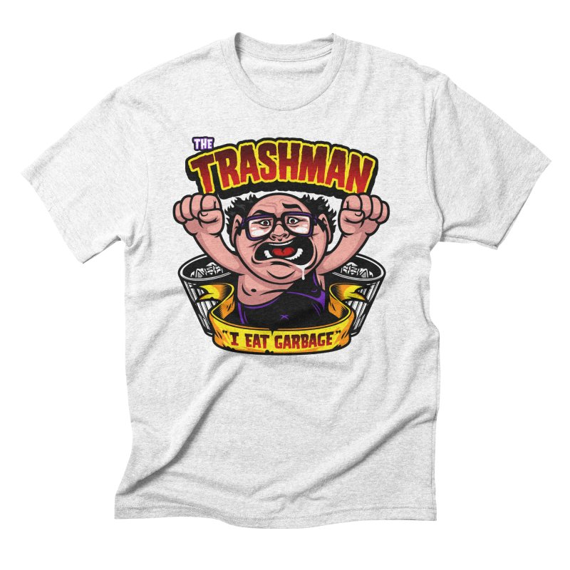 The Trashman Men's Triblend T-shirt by harebrained's Artist Shop