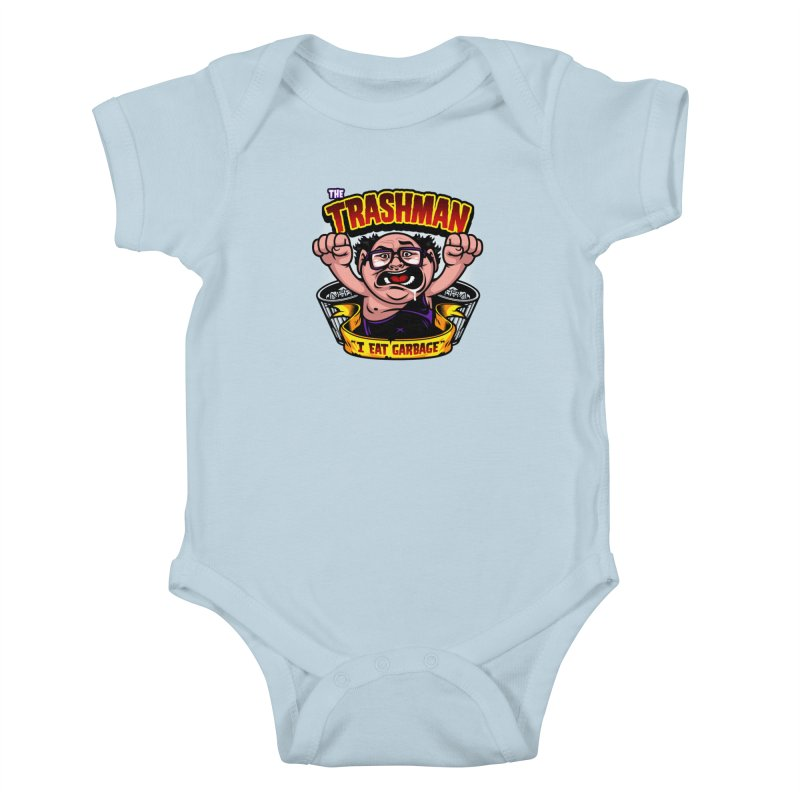 The Trashman Kids Baby Bodysuit by harebrained's Artist Shop
