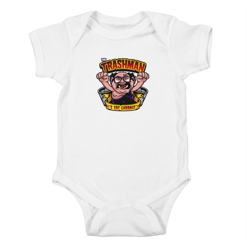 The Trashman Kids Baby Bodysuit by harebrained's Artist Shop