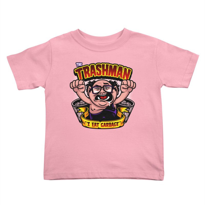 The Trashman Kids Toddler T-Shirt by harebrained's Artist Shop