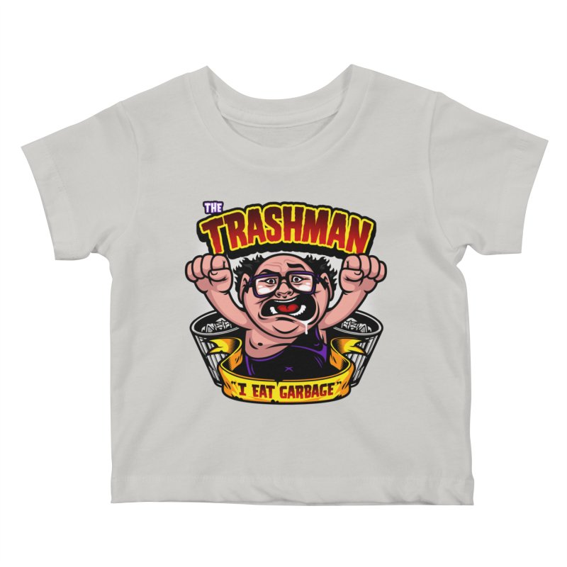 The Trashman Kids Baby T-Shirt by harebrained's Artist Shop