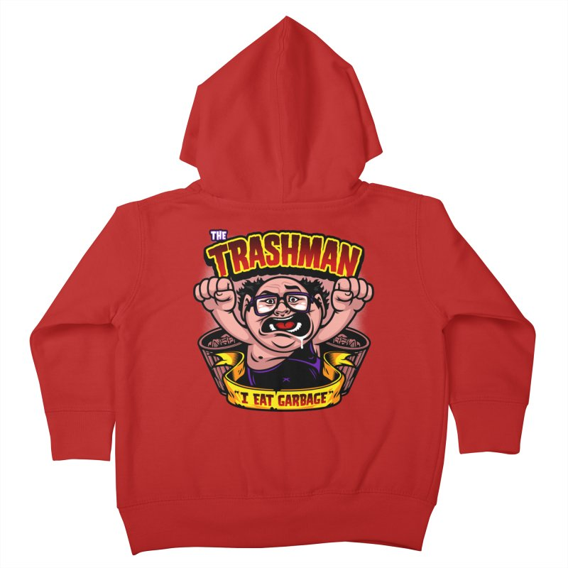 The Trashman Kids Toddler Zip-Up Hoody by harebrained's Artist Shop