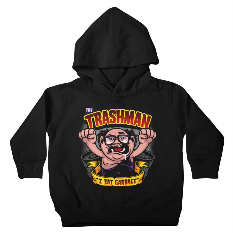 The Trashman Kids Toddler Pullover Hoody by harebrained's Artist Shop