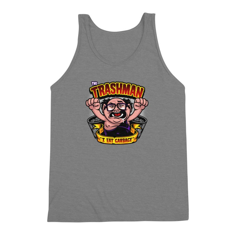 The Trashman Men's Triblend Tank by harebrained's Artist Shop