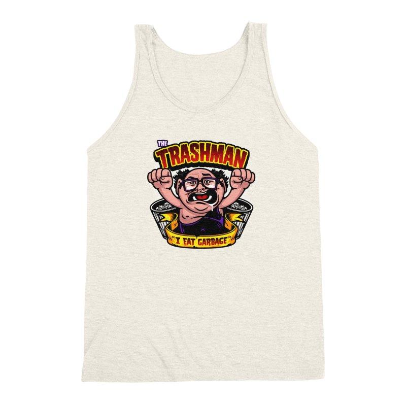 The Trashman Men's Triblend Tank by harebrained's Artist Shop