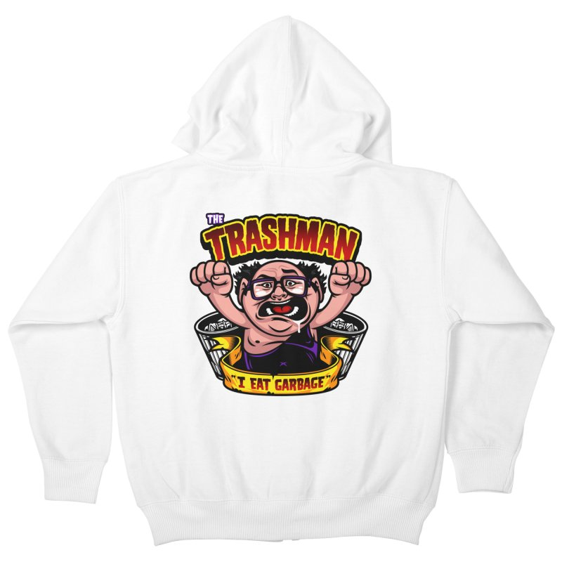 The Trashman Kids Zip-Up Hoody by harebrained's Artist Shop