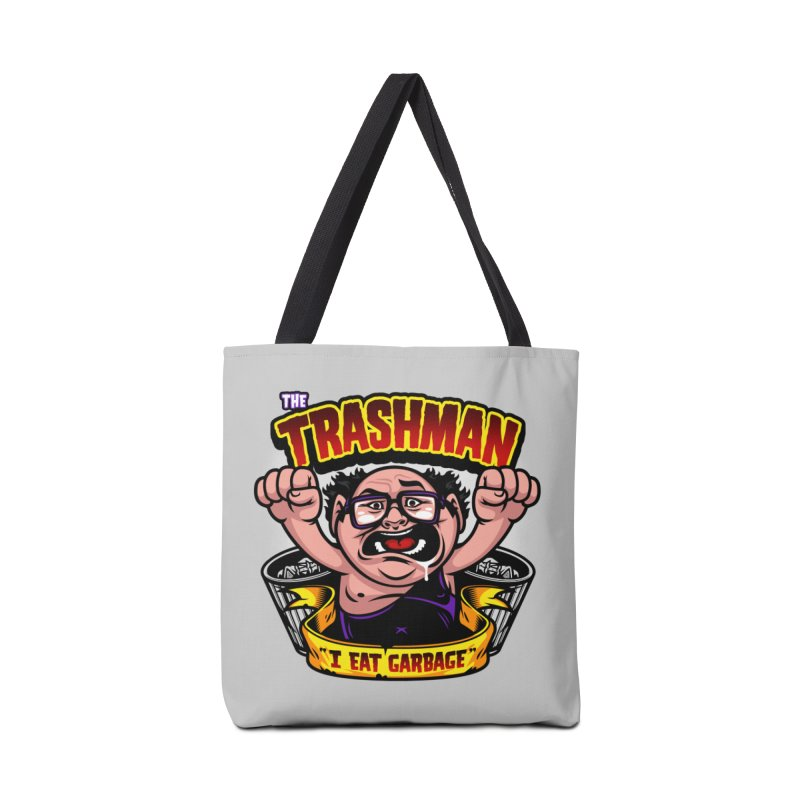 The Trashman Accessories Bag by harebrained's Artist Shop