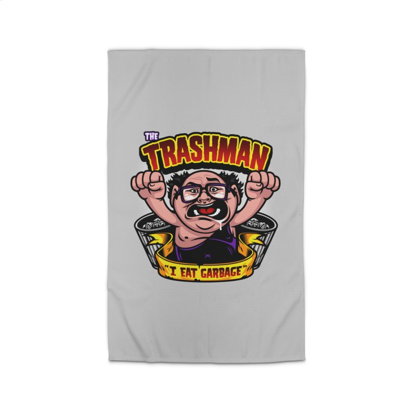 The Trashman Home Rug by harebrained's Artist Shop