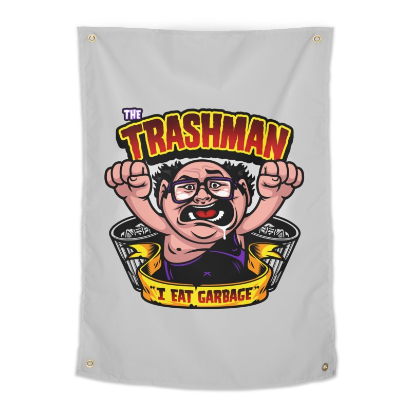 The Trashman Home Tapestry by harebrained's Artist Shop
