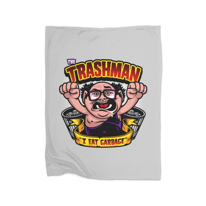 The Trashman Home Blanket by harebrained's Artist Shop