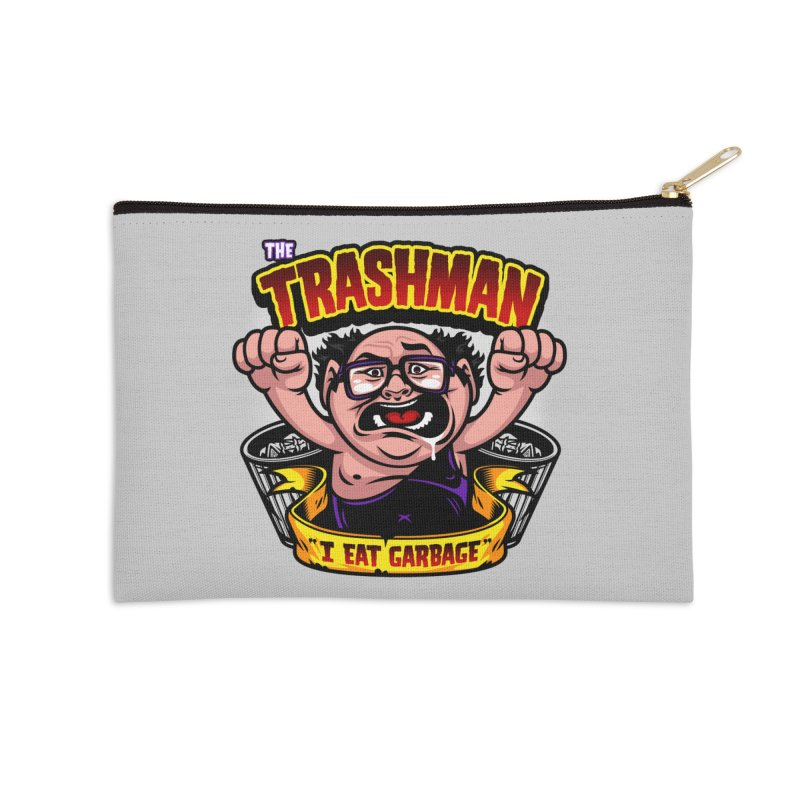 The Trashman Accessories Zip Pouch by harebrained's Artist Shop