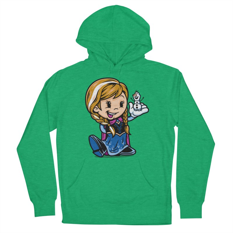Vintage Anna Men's French Terry Pullover Hoody by harebrained's Artist Shop