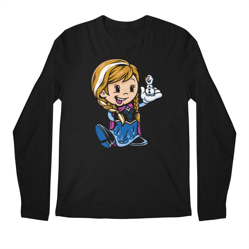 Vintage Anna Men's Longsleeve T-Shirt by harebrained's Artist Shop