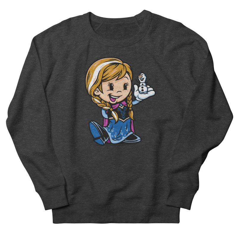 Vintage Anna Women's French Terry Sweatshirt by harebrained's Artist Shop