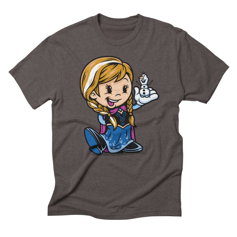 Vintage Anna Men's Triblend T-shirt by harebrained's Artist Shop