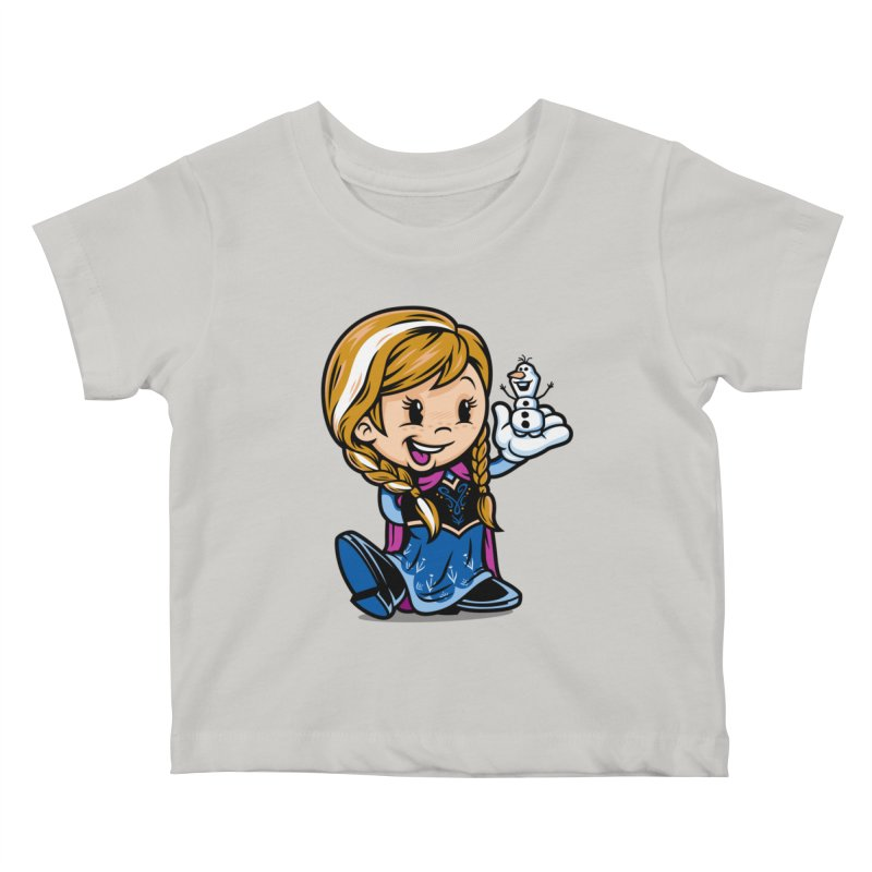 Vintage Anna Kids Baby T-Shirt by harebrained's Artist Shop