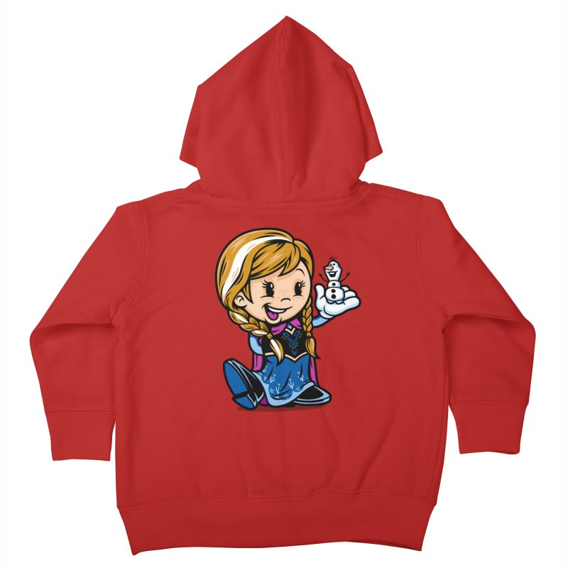 Vintage Anna Kids Toddler Zip-Up Hoody by harebrained's Artist Shop