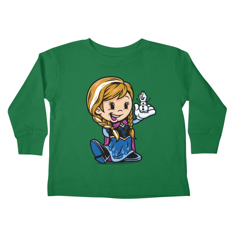 Vintage Anna Kids Toddler Longsleeve T-Shirt by harebrained's Artist Shop