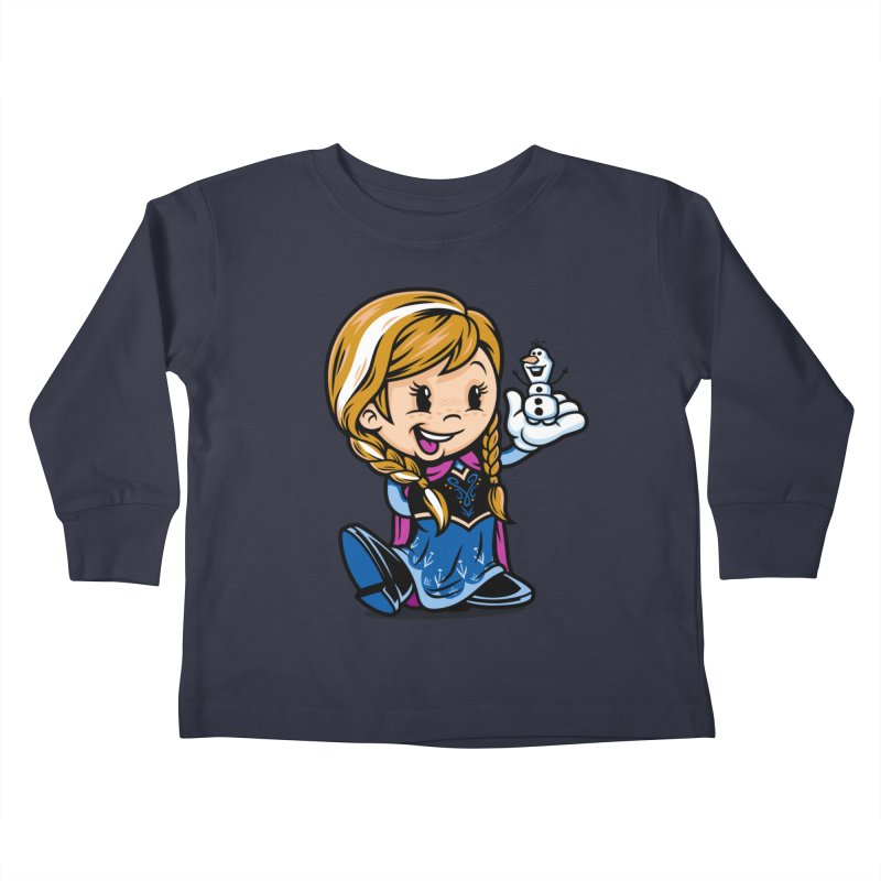 Vintage Anna Kids Toddler Longsleeve T-Shirt by harebrained's Artist Shop