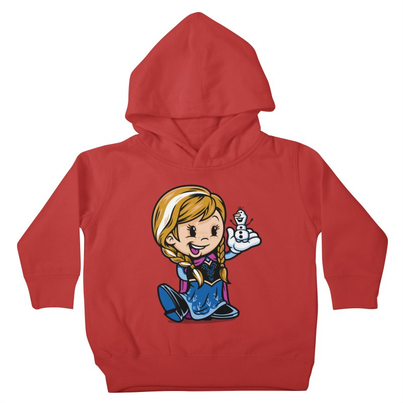 Vintage Anna Kids Toddler Pullover Hoody by harebrained's Artist Shop
