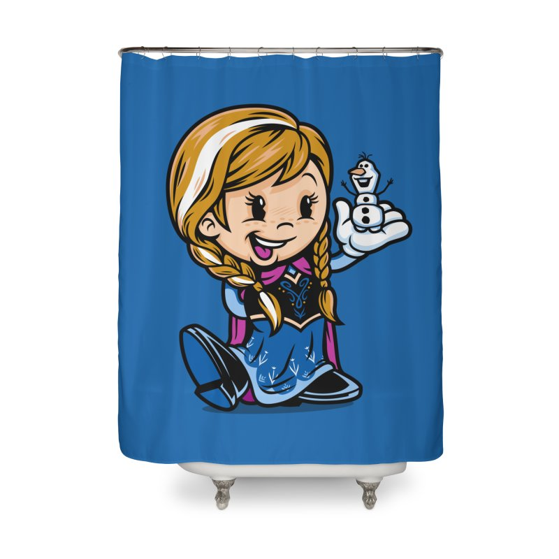 Vintage Anna Home Shower Curtain by harebrained's Artist Shop
