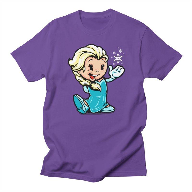 Vintage Elsa Men's T-shirt by harebrained's Artist Shop