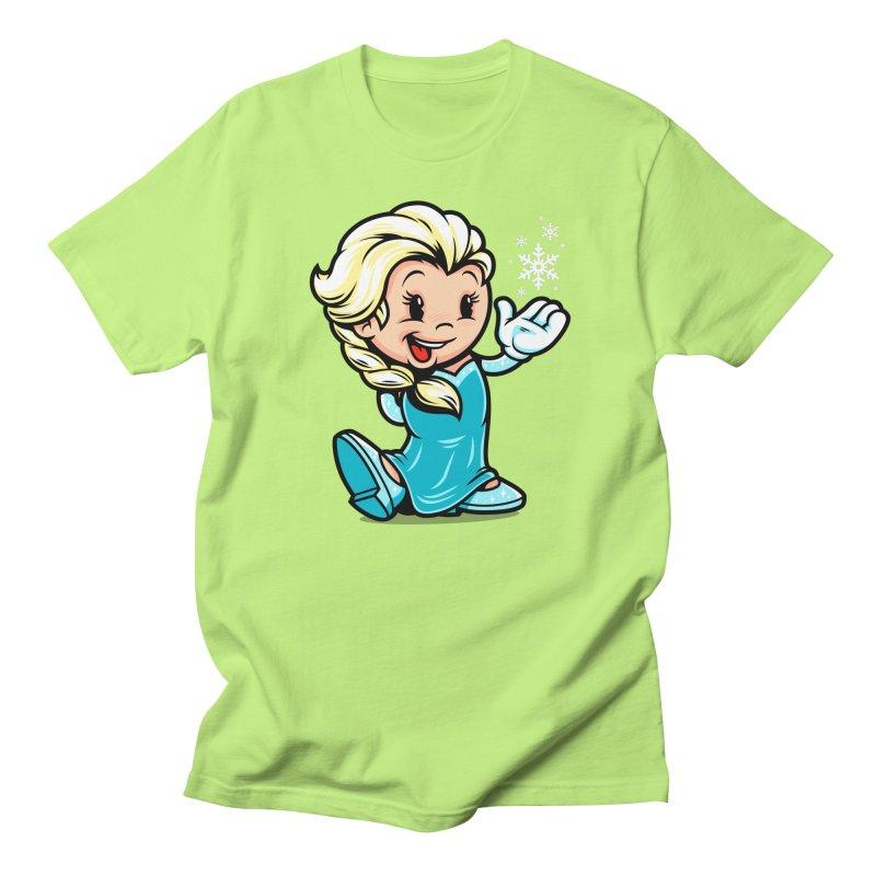 Vintage Elsa Women's Unisex T-Shirt by harebrained's Artist Shop