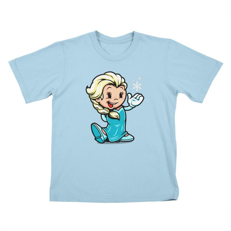 Vintage Elsa Kids T-Shirt by harebrained's Artist Shop