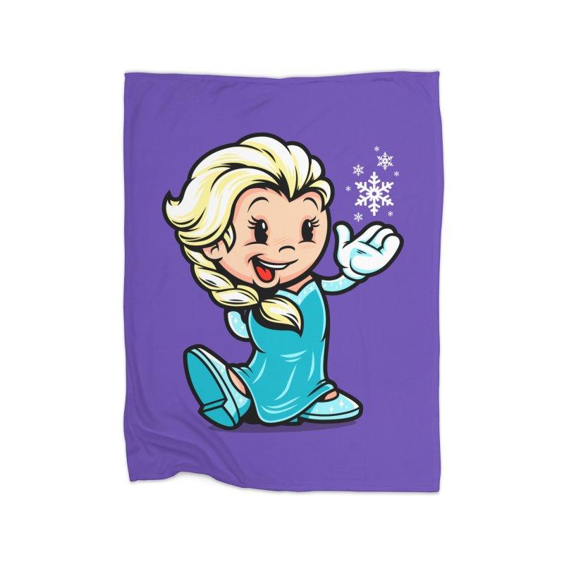 Vintage Elsa Home Blanket by harebrained's Artist Shop