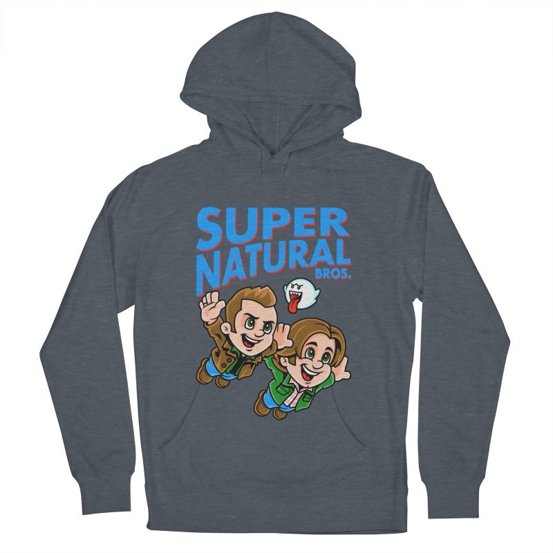 Super Natural Bros Women's Pullover Hoody by harebrained's Artist Shop